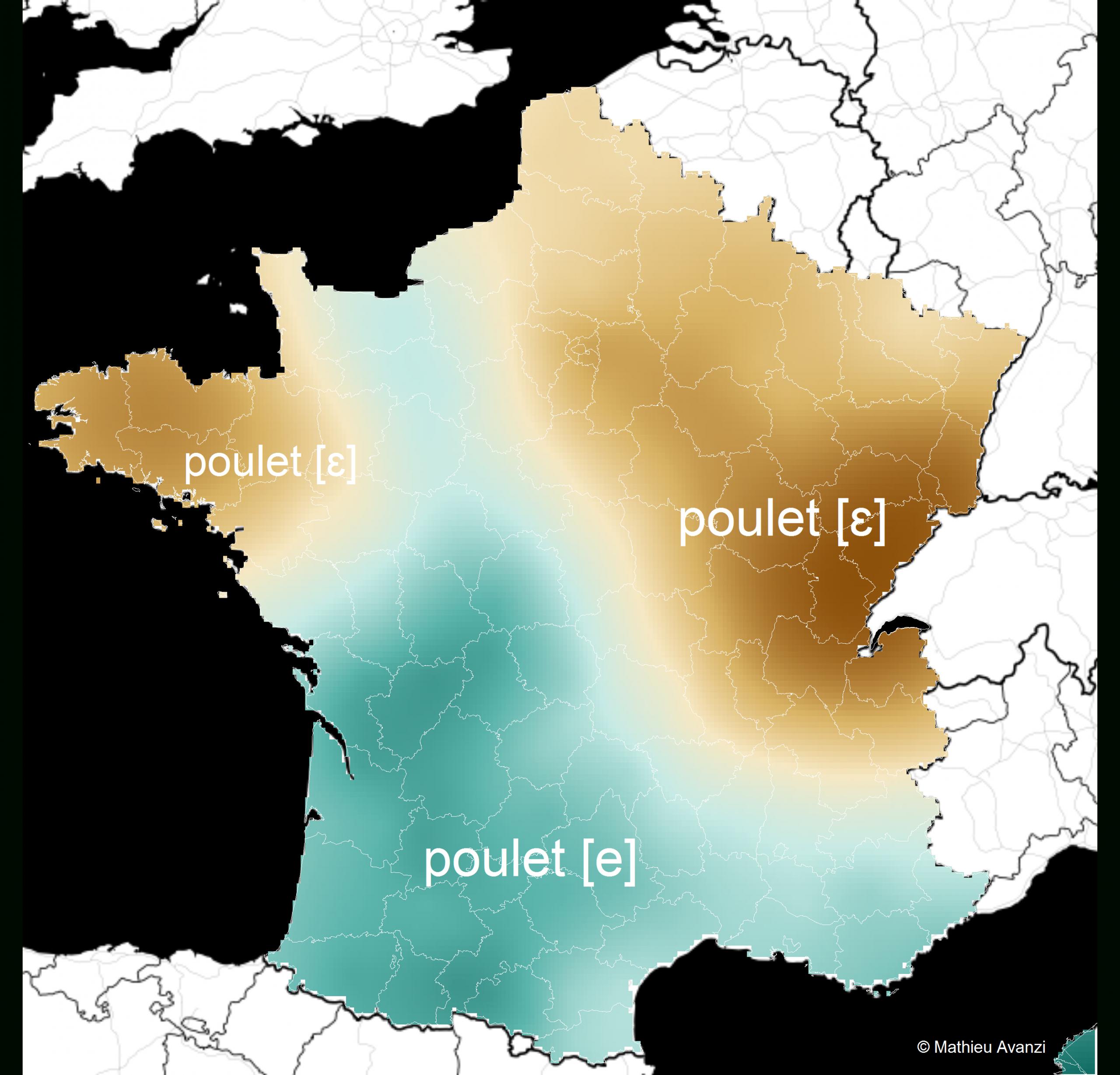 Ces Mots Qui Ne Se Prononcent Pas De La Même Façon D'un Bout serapportantà Liste Des Régions De France