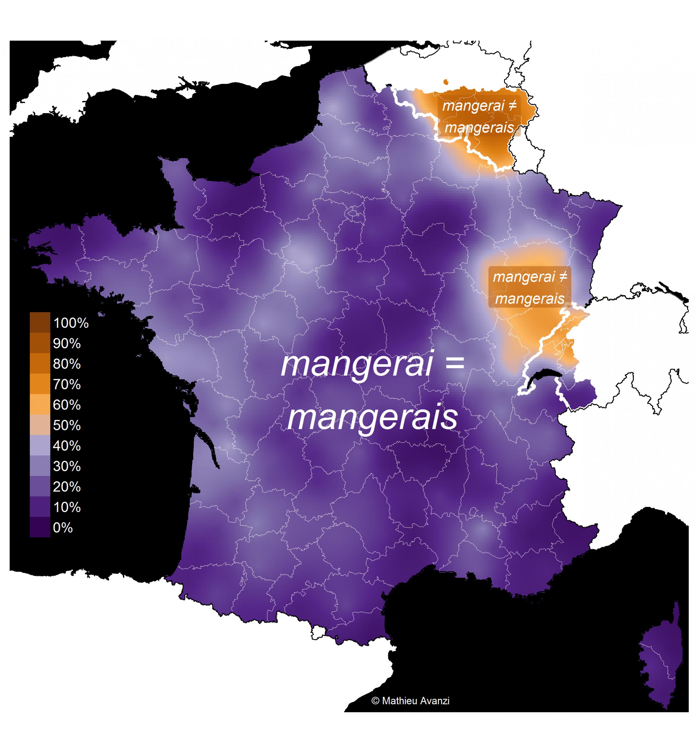 Ces Prononciations Qui Divisent La France – Français De Nos destiné Apprendre Les Régions De France