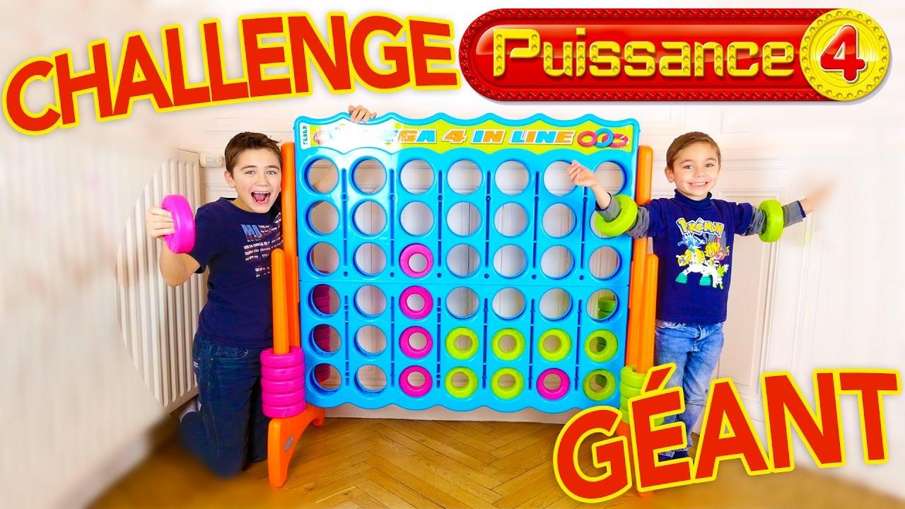 Challenge Puissance 4 Géant - Swan Vs Néo - Giant Connect 4 - Mega 4 In Line dedans Jeu De Société Puissance 4