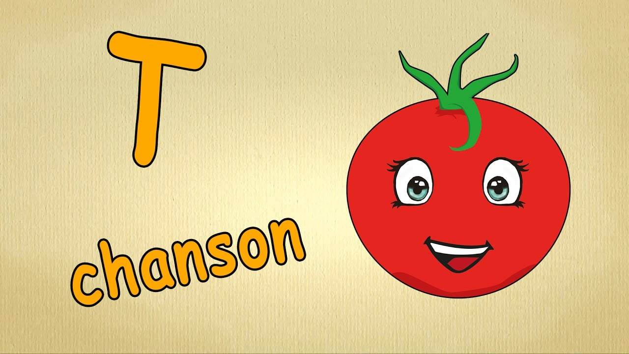 Chanson Pour Enfants- La Lettre T - Apprendre L'alphabet En Français tout Apprendre Alphabet Francais
