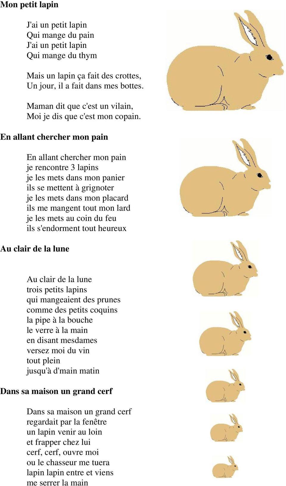 Chansons Et Comptines D Animaux Domestiques. Un Petit Cochon destiné Les Animaux Domestiques En Maternelle