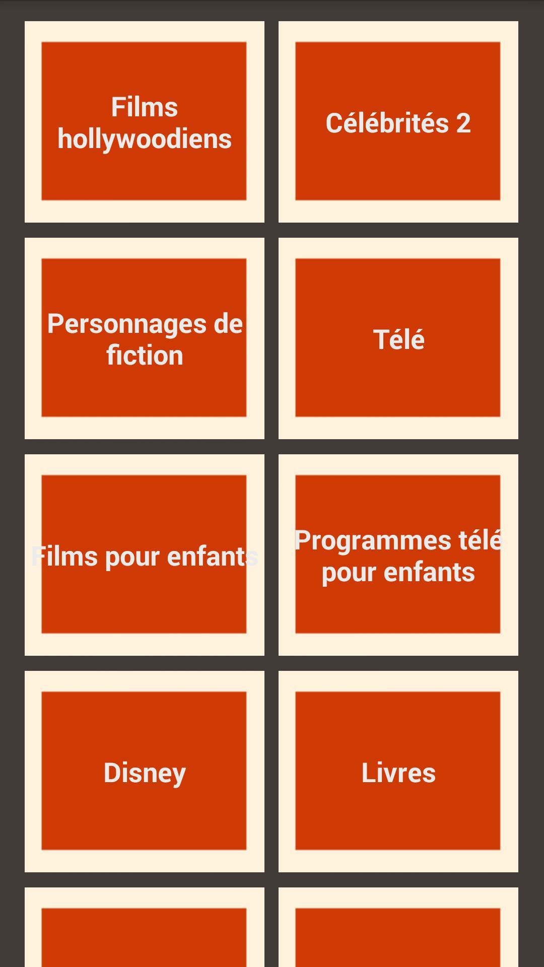 Charades Devinez Le Mot For Android - Apk Download pour Mot Pour Enfant