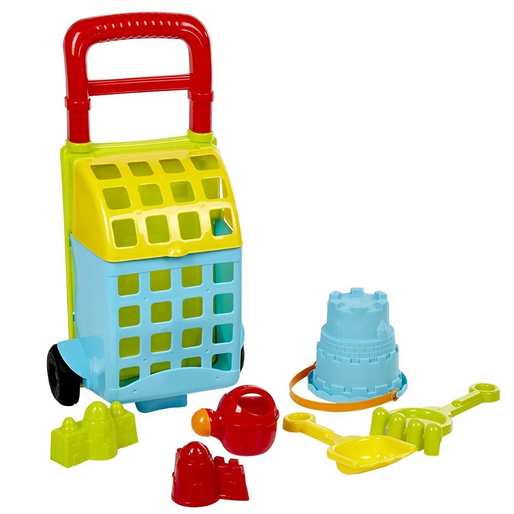 Chariot De Plage Avec 8 Accessoires De Jeux Pour Enfants intérieur Jeux Pour Enfan