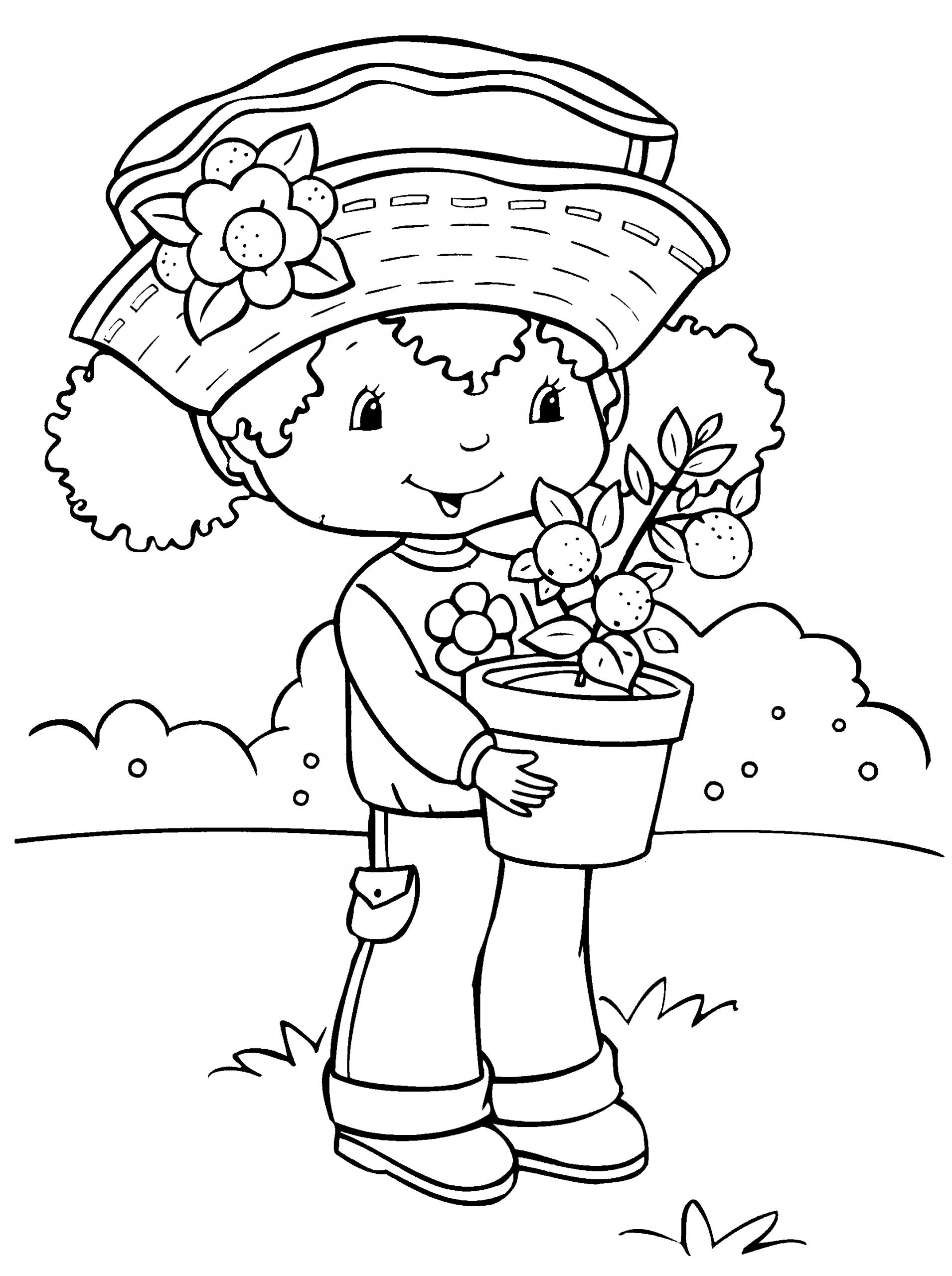 Charlotte Aux Fraises / Fraisinette #65 (Dessins Animés avec Charlotte Au Fraise Coloriage