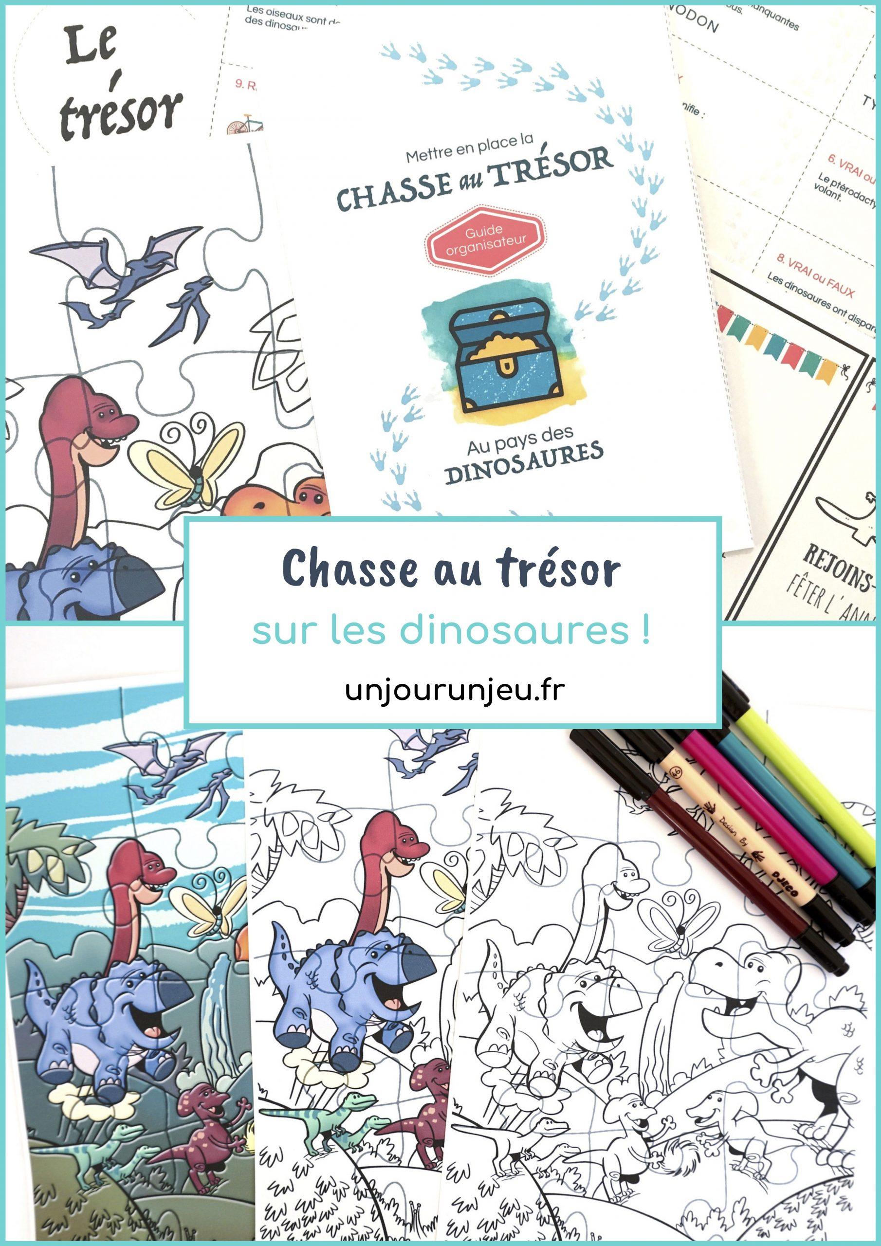 Chasse Au Trésor À Imprimer Immédiatement Sur Les Dinosaures serapportantà Jeux Gratuit 4 Ans