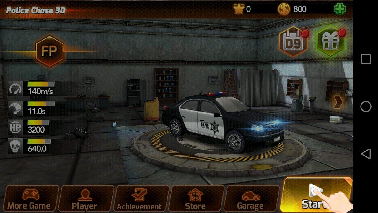 Chasse De Voiture De Police 1.0.4 - Télécharger Pour Android pour Jeu De Voitur