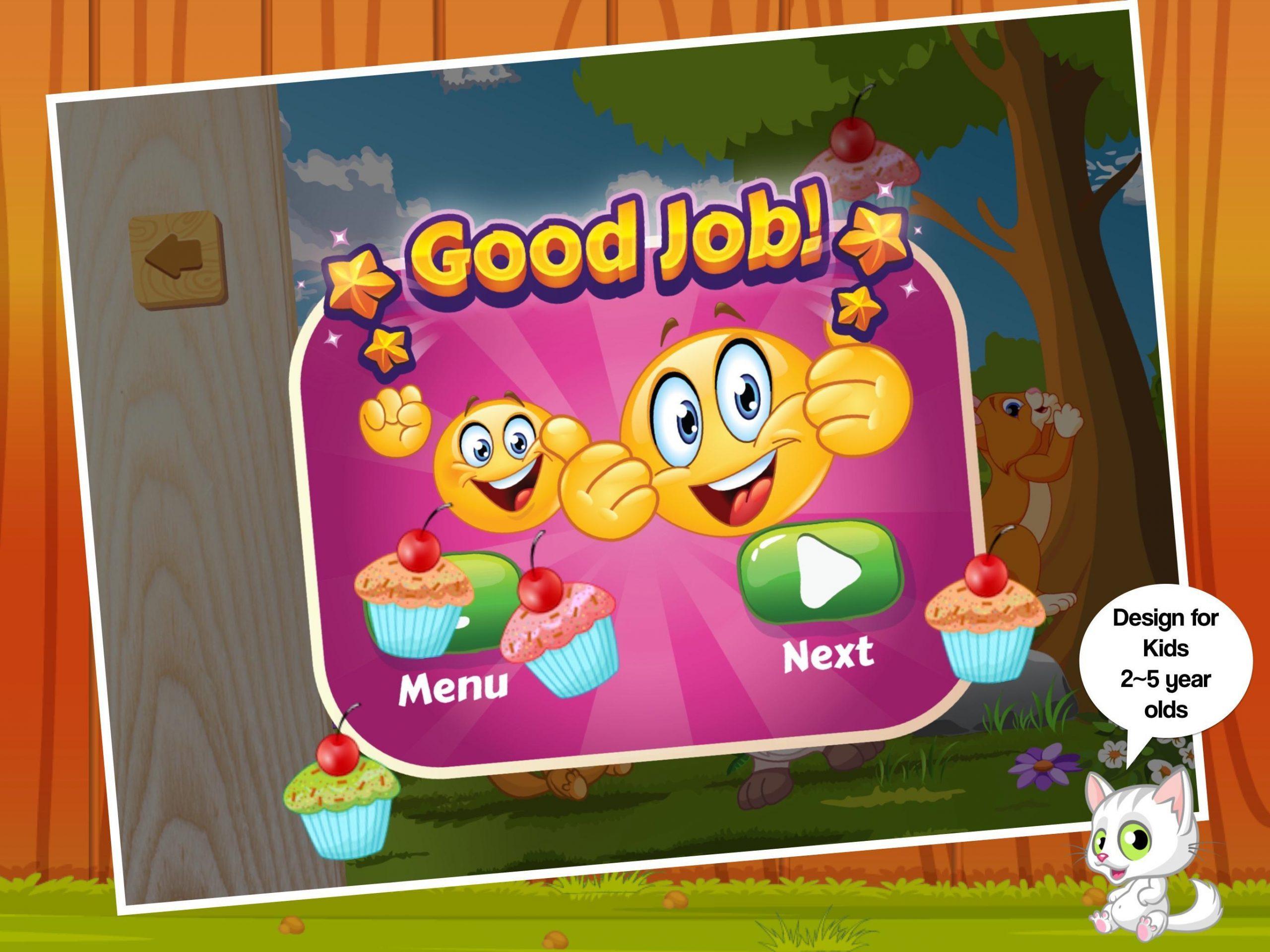 Chat Mignon - Jeux Puzzle Pour Enfants Facile Pour Android tout Puzzle Gratuit Facile