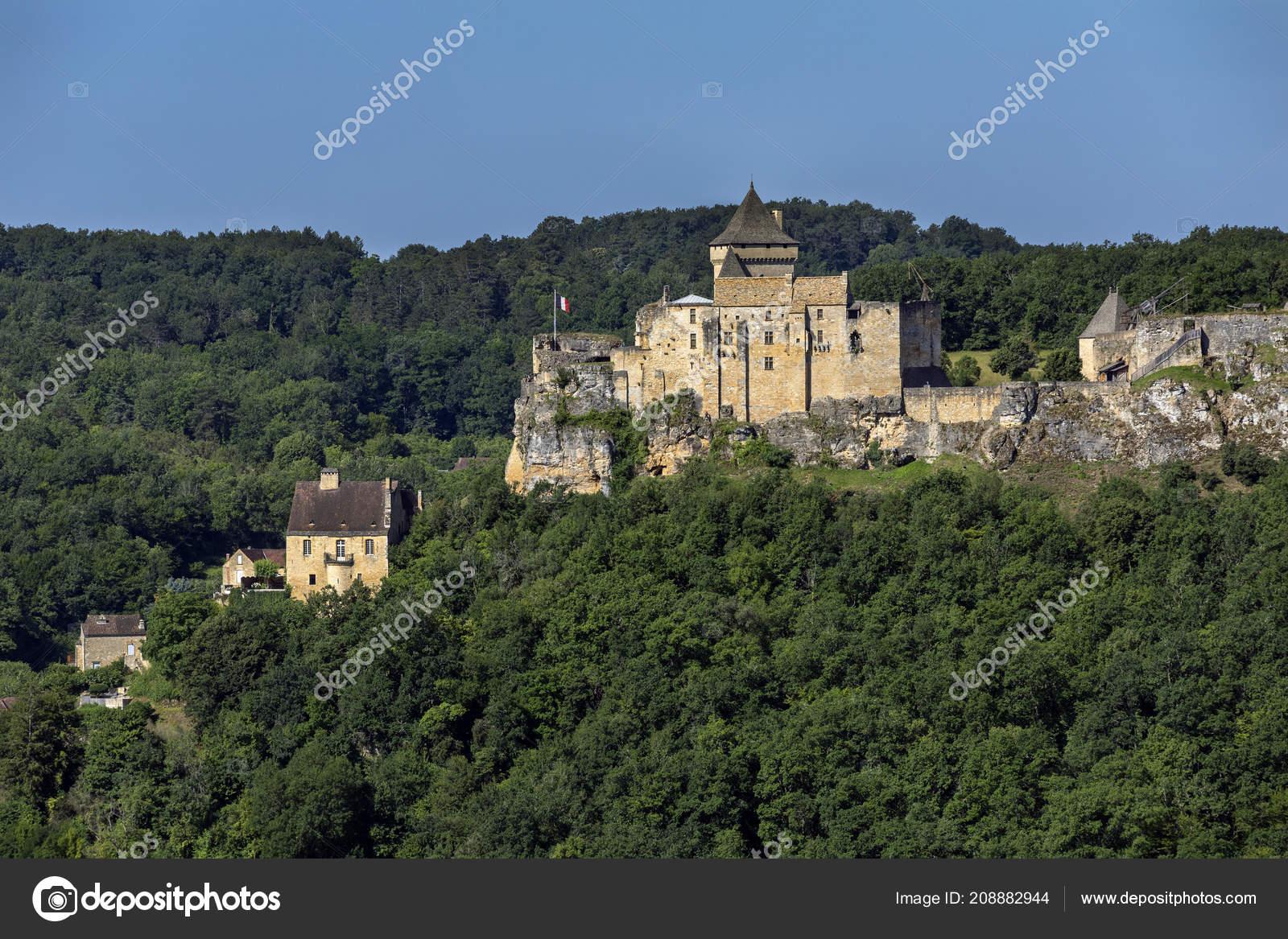 Chateau Castelnaud Dordogne Area Nouvelle Aquitaine Region encequiconcerne Nouvelle Region France