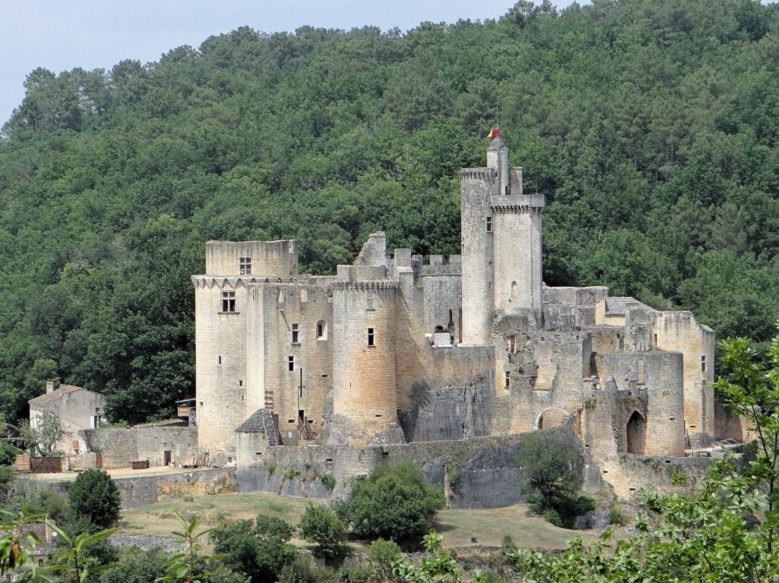 Château De Bonaguil — Wikipédia avec Image De Chateau Fort A Imprimer
