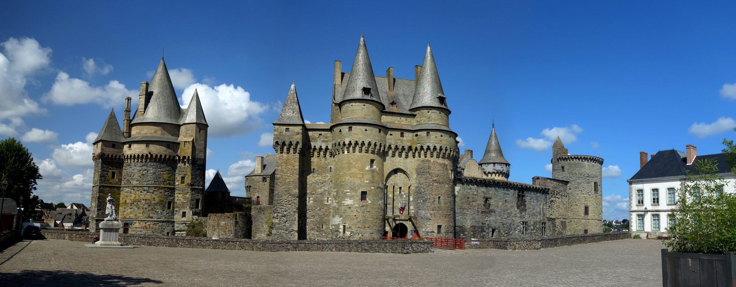 Château De Vitré — Wikipédia intérieur Image De Chateau Fort A Imprimer