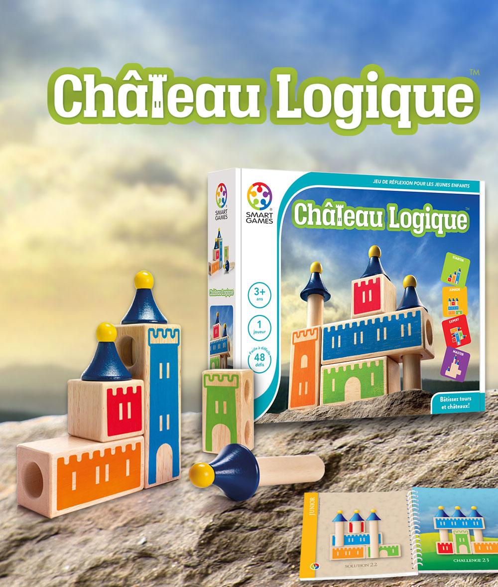 Château Logique - Smartgames pour Jeu Logique Enfant