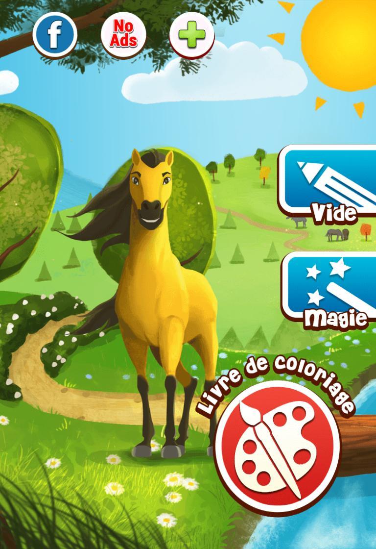 Cheval Jeu De Coloriage Pour Android - Téléchargez L'apk encequiconcerne Jeux De Coloriage De Cheval