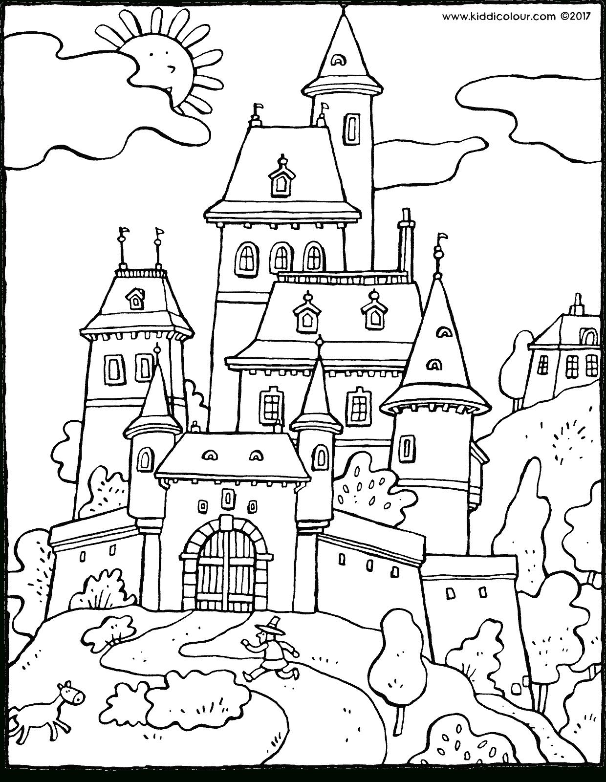 Chevaliers Kleurprenten - Kiddicoloriage concernant Coloriage D Épée