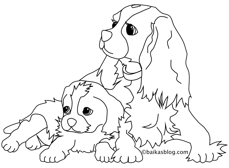 Chien #22 (Animaux) – Coloriages À Imprimer tout Animaux A Dessiner Imprimer