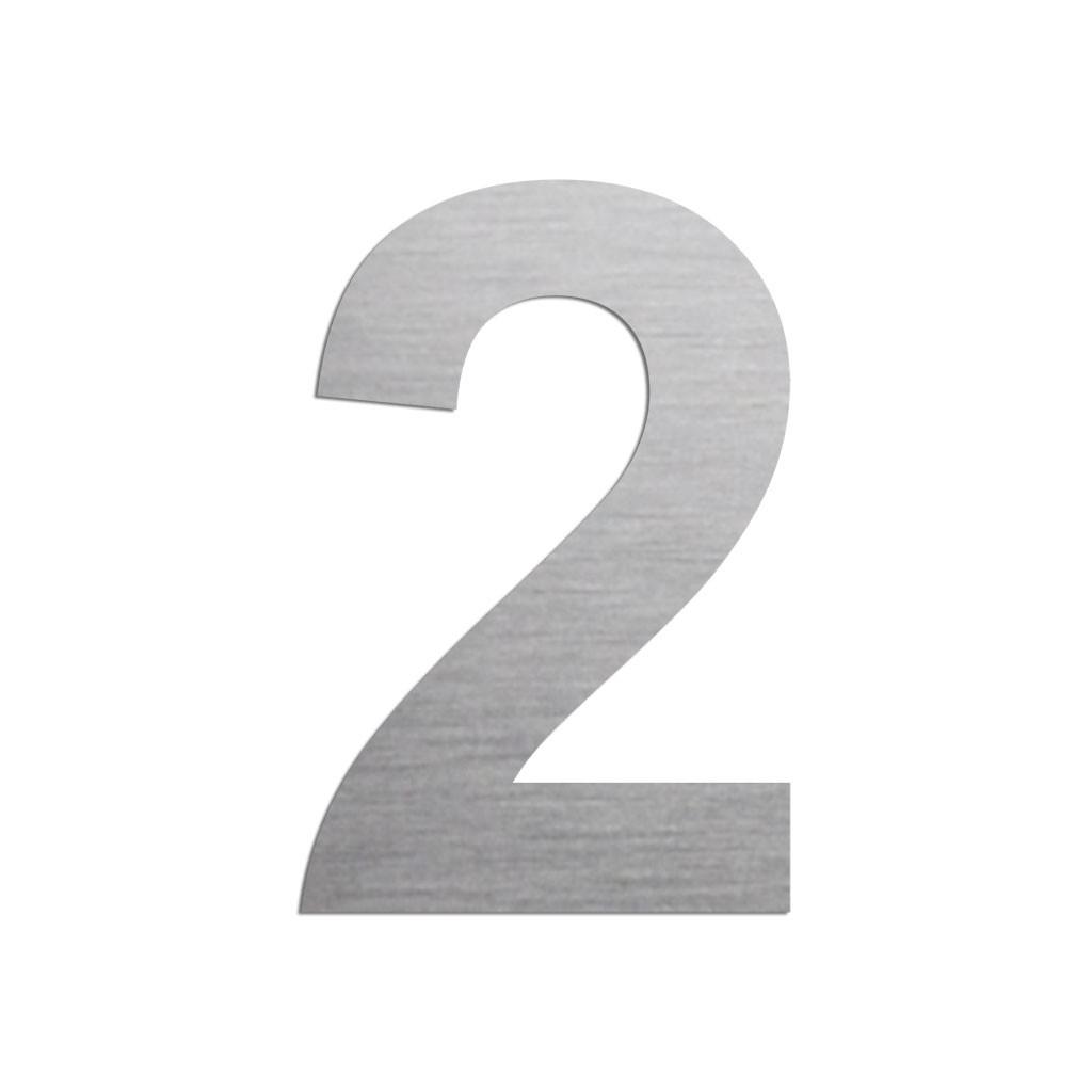 Chiffre 2 En Aluminium Découpé avec Chiffre A Decouper