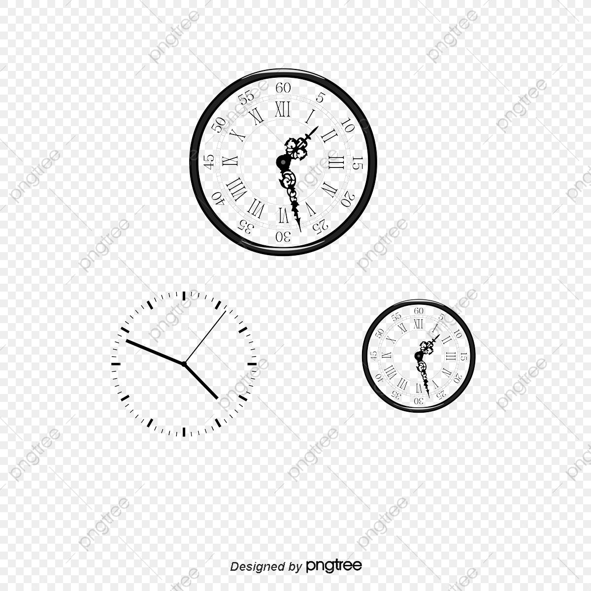 Chiffre Romain Rétro Un Cadran D'horloge, Rétro Horloge intérieur Dessin Chiffre Romain