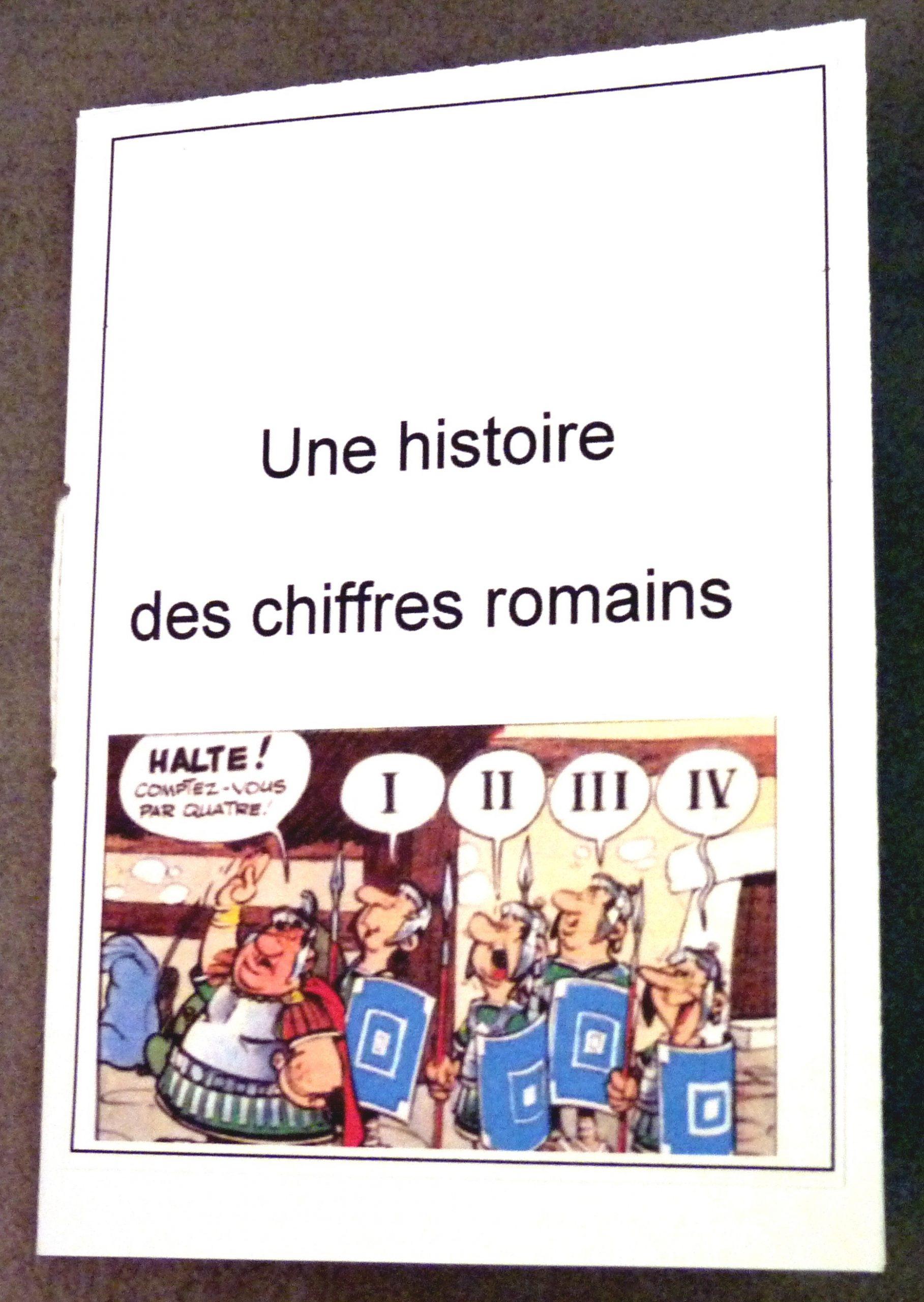 Chiffres Romains | Fantadys avec Exercice Chiffre Romain