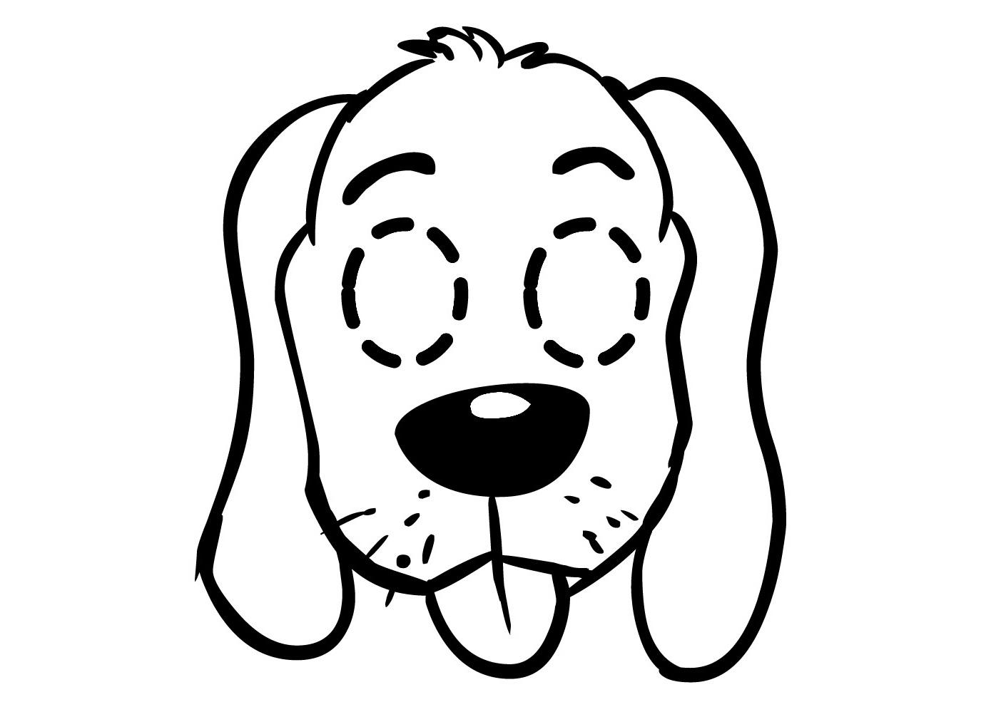 Chiot #143 (Animaux) – Coloriages À Imprimer concernant Coloriage De Chiot A Imprimer