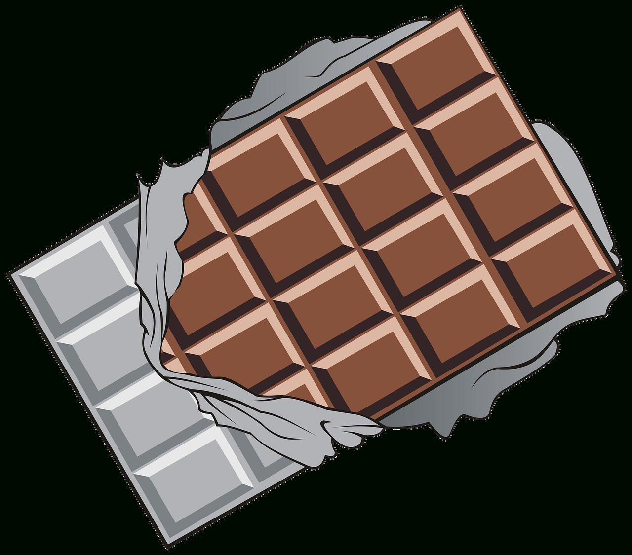 Chocolat Tablette Morceaux - Image Gratuite Sur Pixabay intérieur Tablette Chocolat Dessin