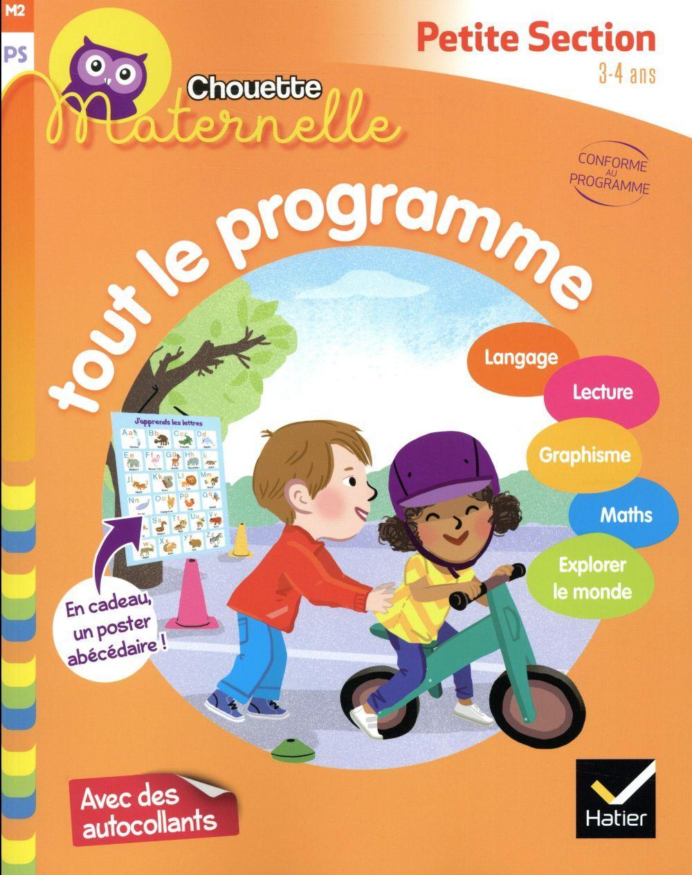 Chouette Maternelle ; Tout Le Programme ; Petite Section intérieur Livre Graphisme Maternelle