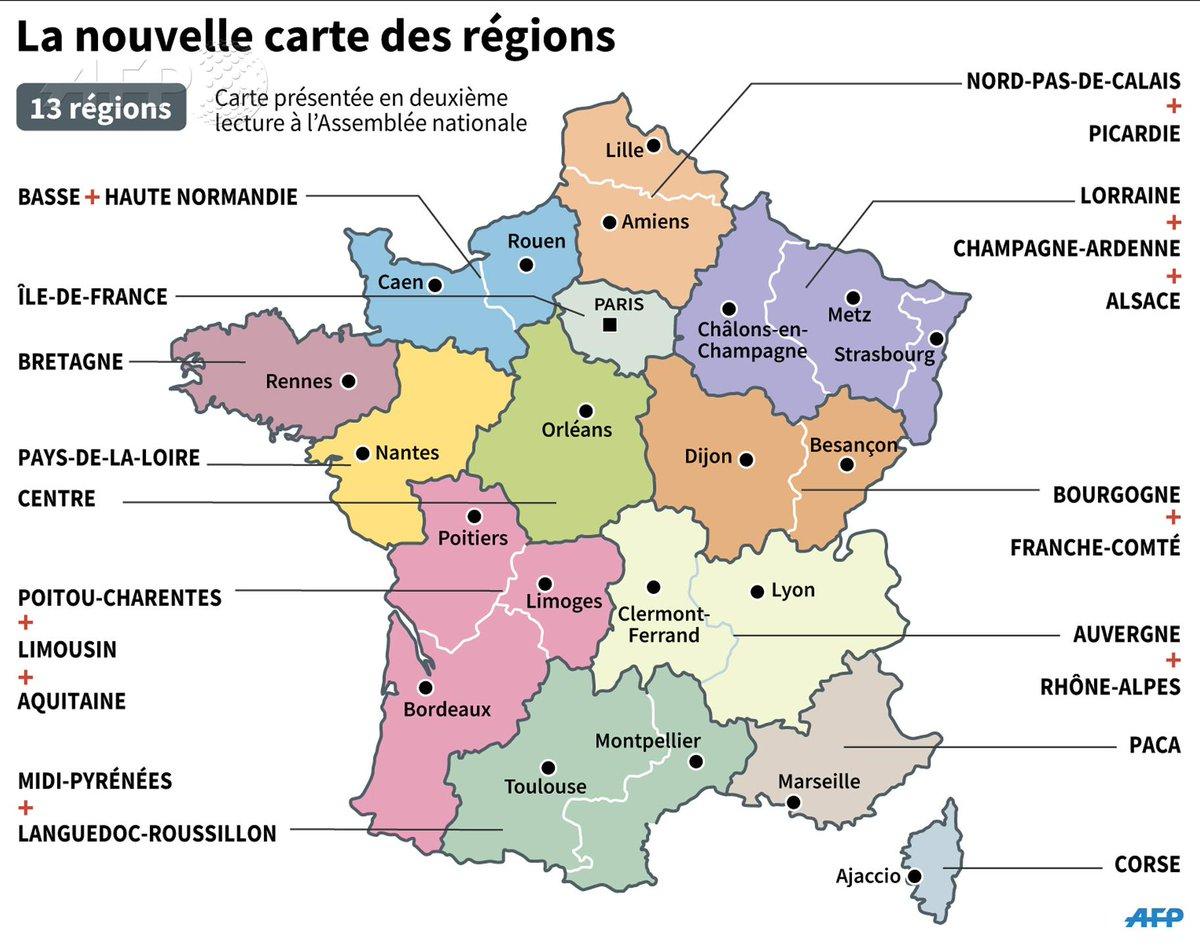 Chris (@cm26273) | Twitter tout Carte De France Nouvelle Region