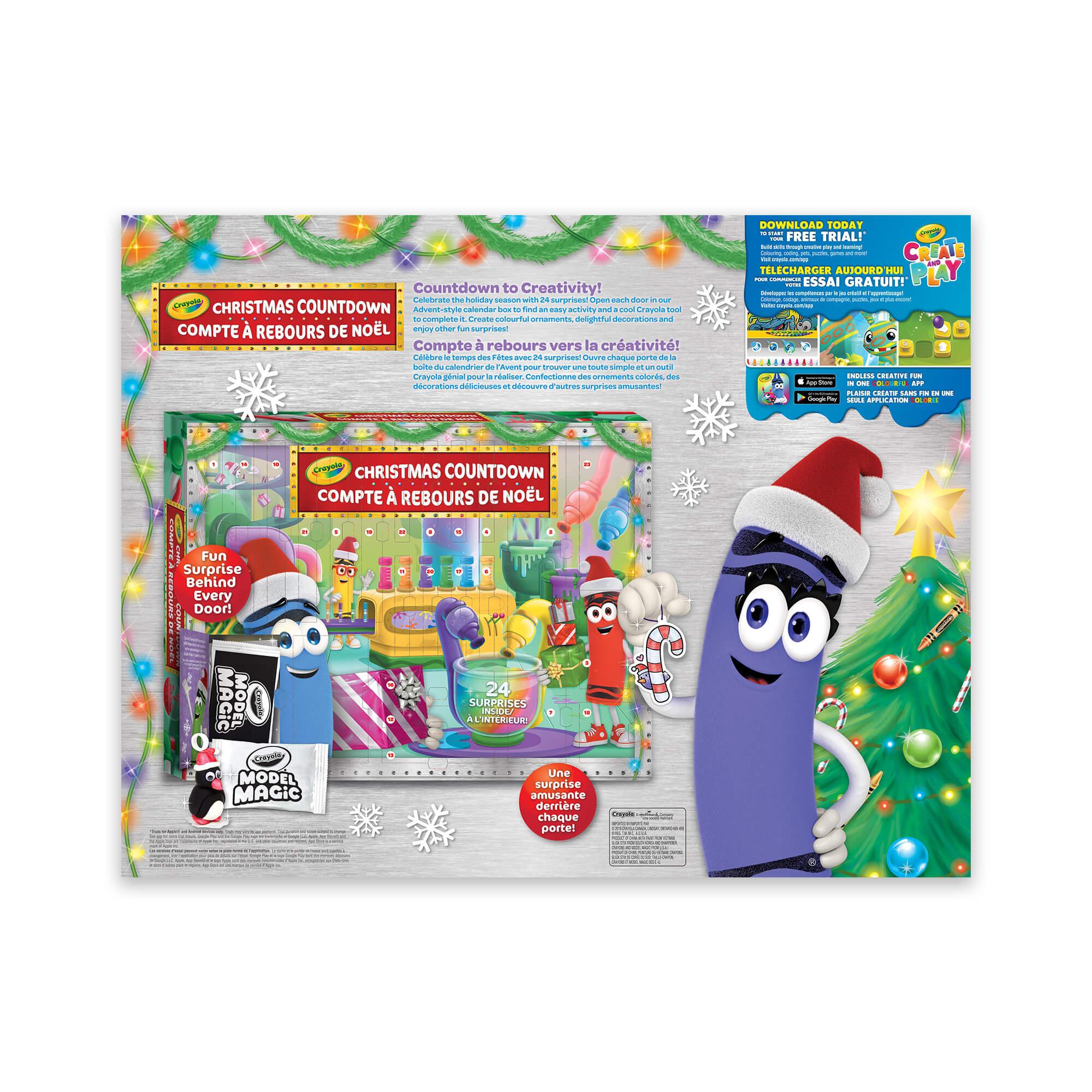 Christmas Countdown Activity Advent Calendar à Puzzles Gratuits Sans Téléchargement