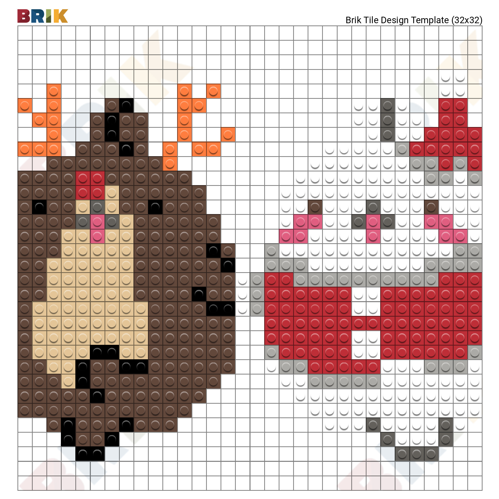 Christmas Pixel Art – Brik pour Pixel Art De Noël