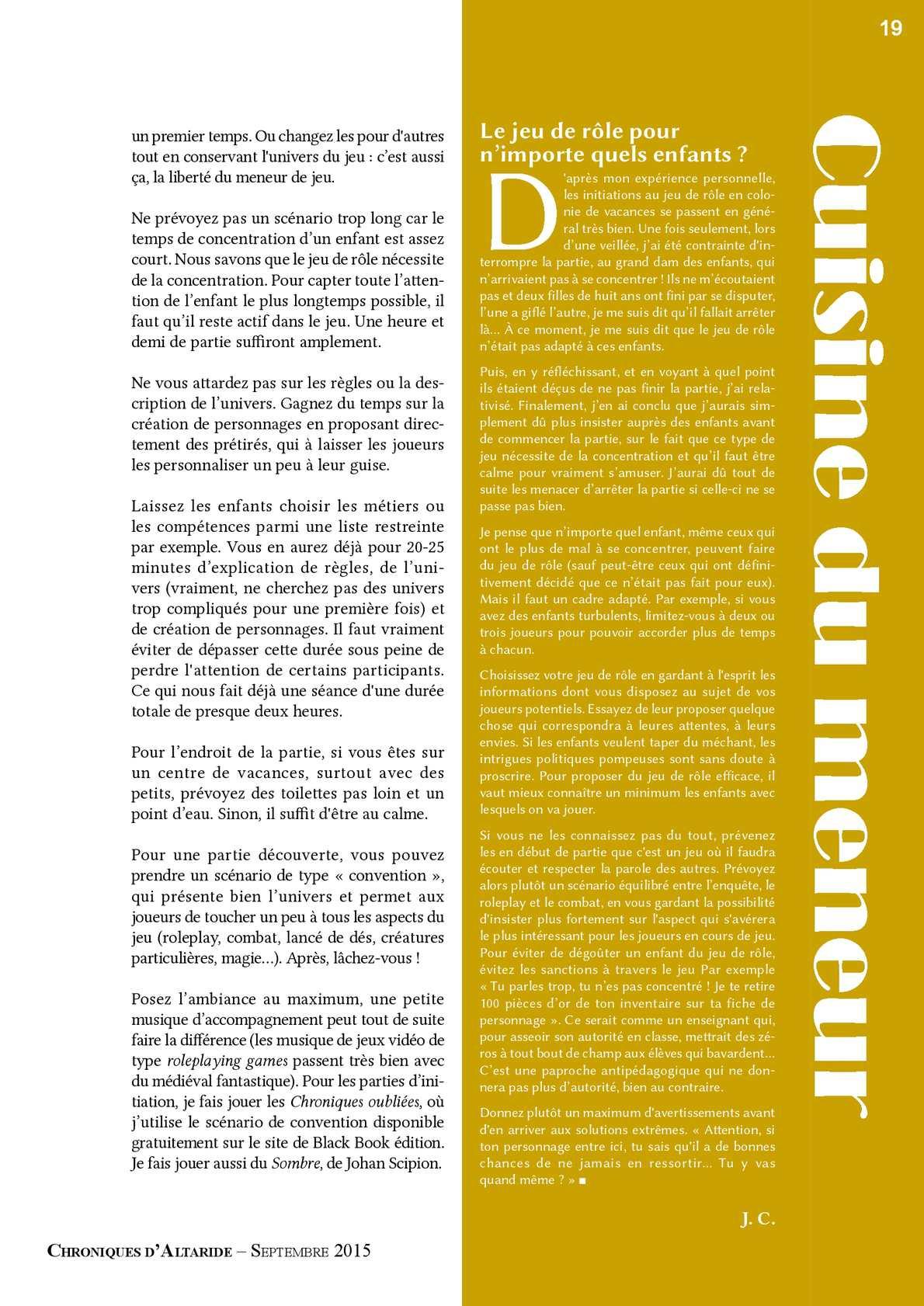 Chroniques D'altaride 40 Enfance - Calameo Downloader pour Jeux Des Differences Gratuit