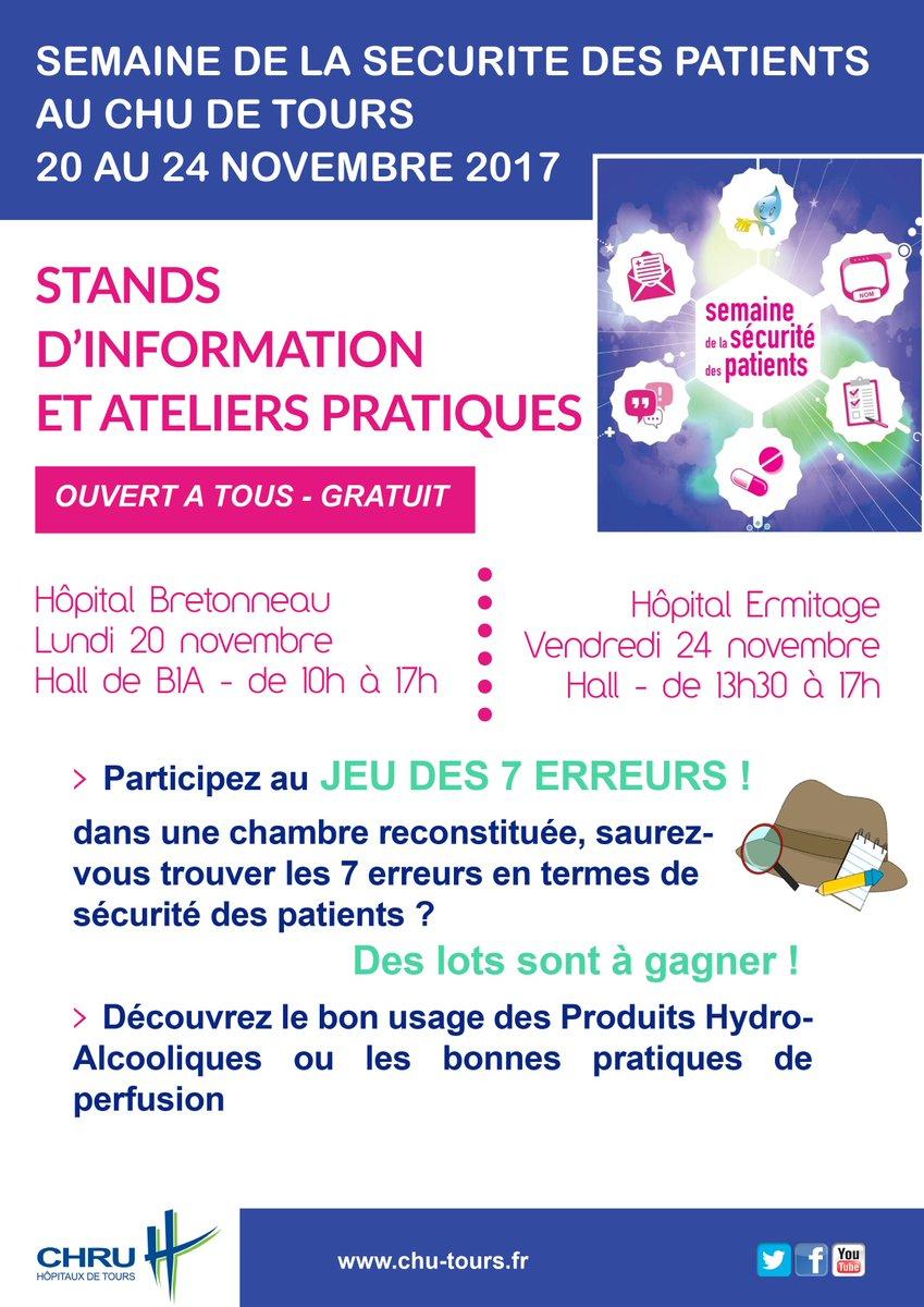 """Chrutours On Twitter: """"semaine De La Sécurité Des Patients tout Jeux Des 7 Différences Gratuit"""