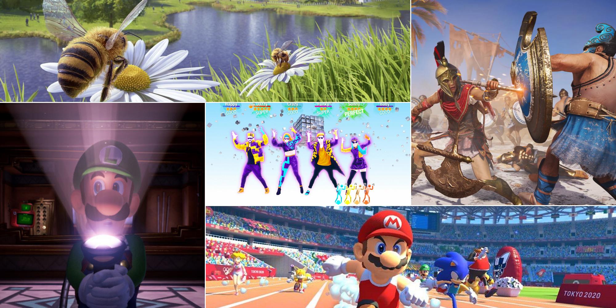Cinq Jeux Vidéo Pour Jouer En Famille Pendant Le Confinement dedans Jeux Pc Enfant