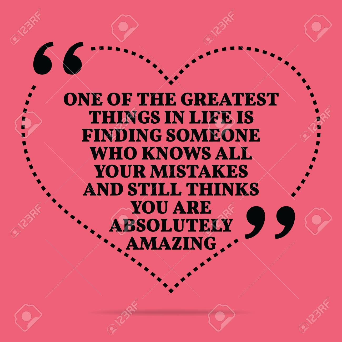 Citation Inspirée Amour De Mariage. Une Des Plus Grandes Choses Dans La Vie  Est De Trouver Quelqu'un Qui Connaît Tous Vos Erreurs Et Pense Toujours pour Trouver Les Erreurs À Imprimer
