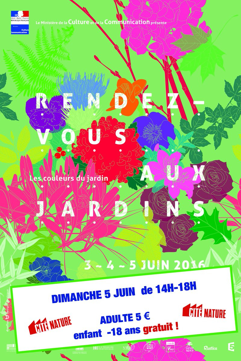 """Cité Nature On Twitter: """"dim 5 Juin Rdv Aux Jardins 14H-18H concernant Jeux Gratuits Pour Enfants De 5 Ans"""