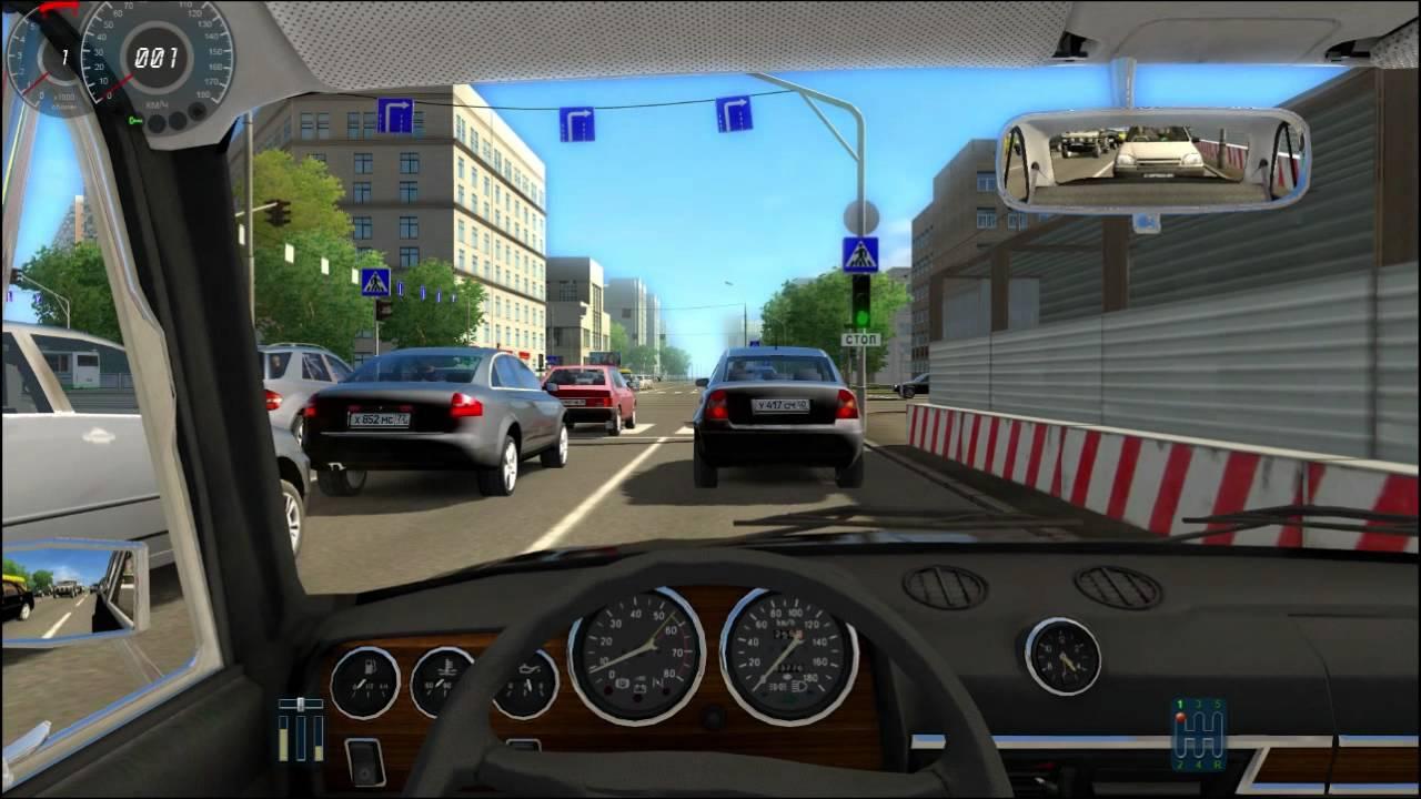 City Car Simulator. En Voiture Avec Bloudman (Heureusement Qu'il A Pas Le  Permis Celui Là ^^) à Jeux De Voiture Gratuit En Ligne