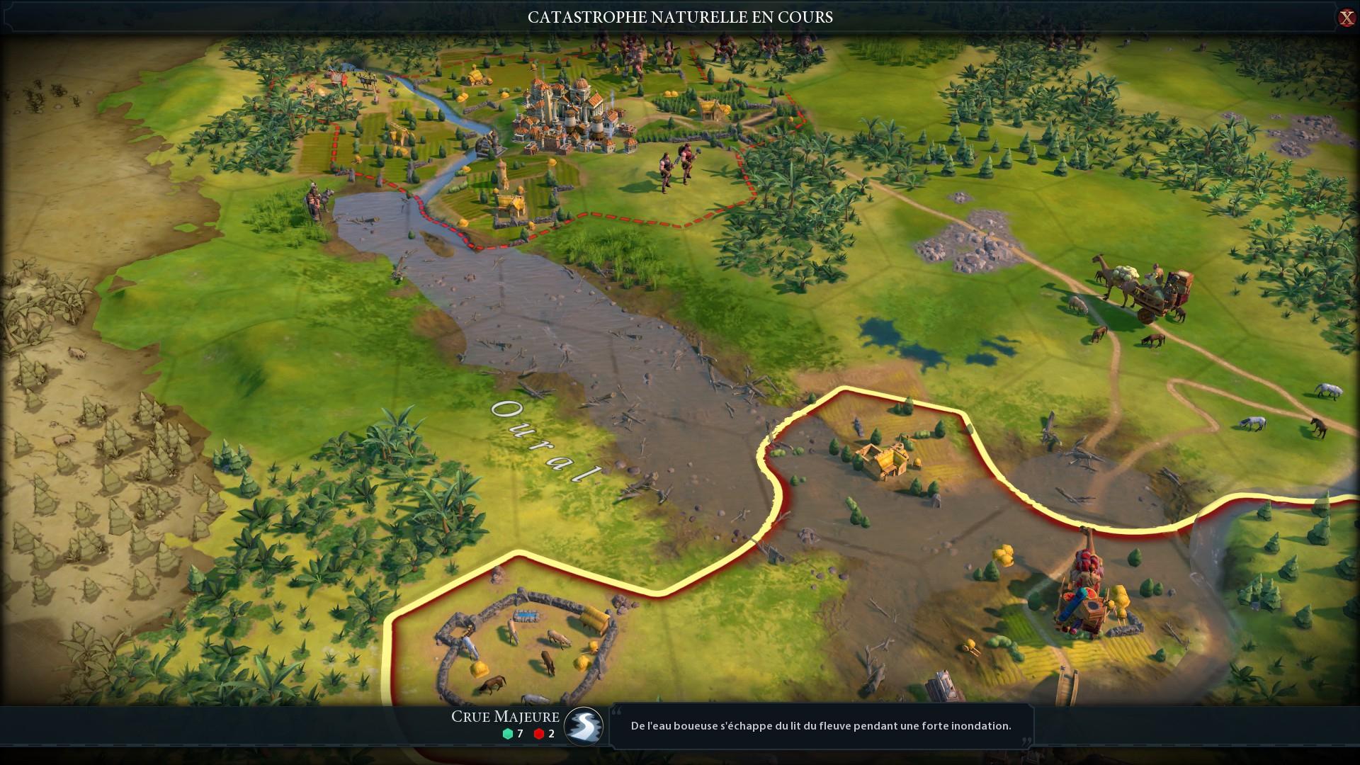 Civilization Vi: Gathering Storm - Test De Gathering Storm avec Jeux De Catastrophe Naturel Gratuit