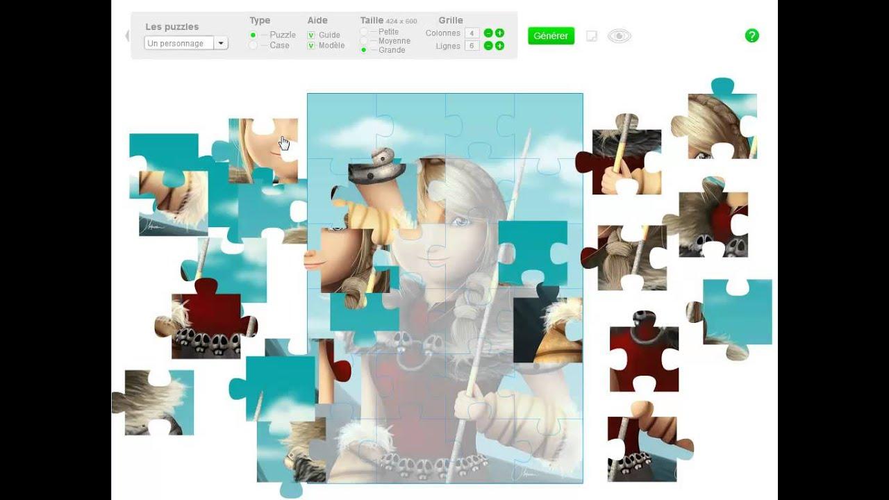 Classetice - 5 Applications Pour Générer Des Puzzles Pour La pour Puzzles Gratuits Sans Téléchargement