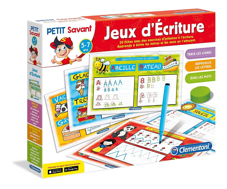 Clementoni - 62545.1 - Jeu Educatif - Jeux D'écriture -5 À 7 serapportantà Jeux Educatif 5 Ans