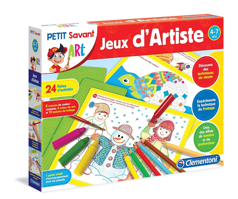 Clementoni - Jeux D'artiste - Jeux Éducatifs - Catégories tout Jeux Educatif 7 Ans