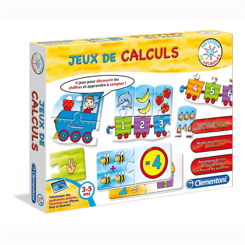 Clementoni - Jeux De Calculs Mathématiques Logique (French) dedans Je De Logique