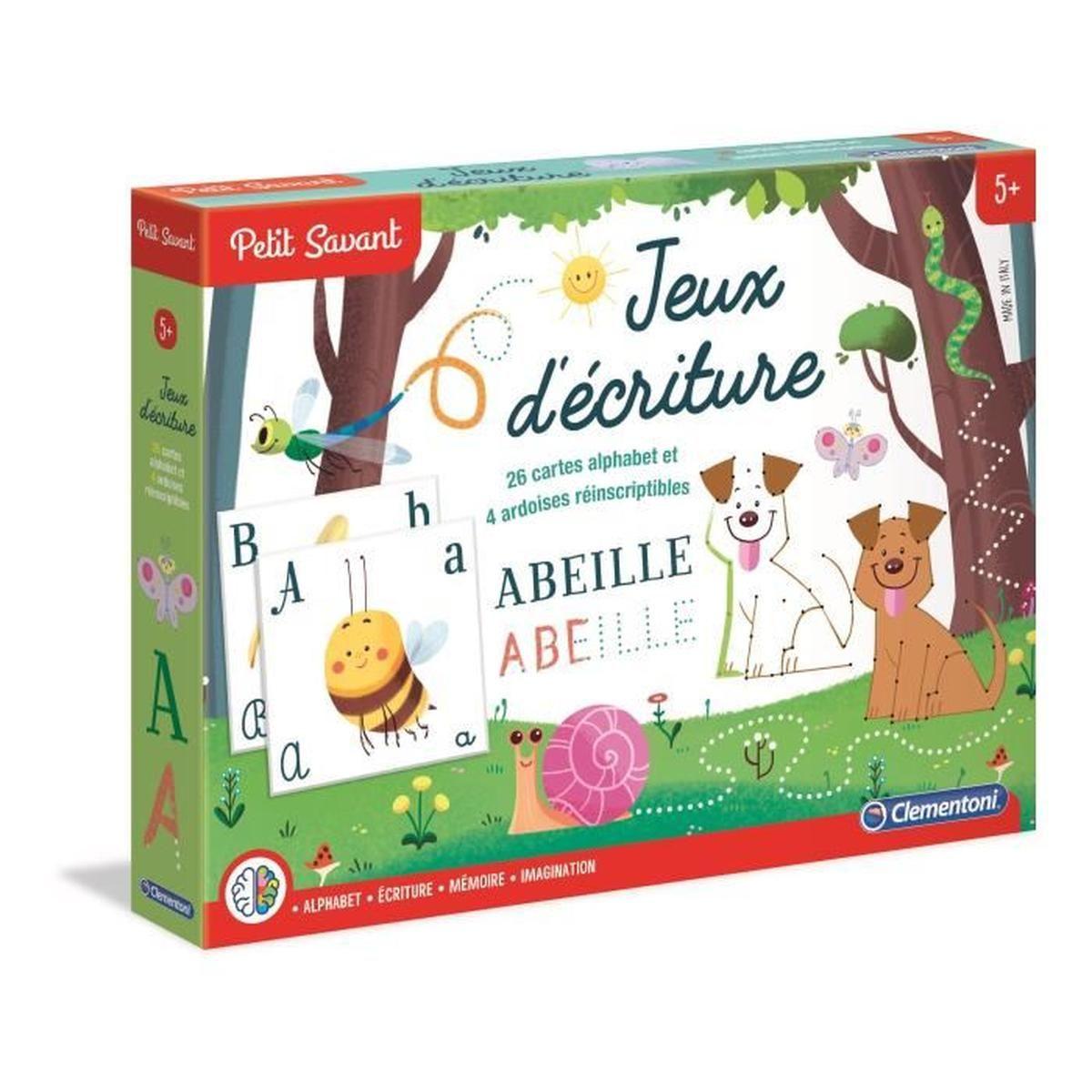 Clementoni Jeux Ecriture avec Jeux Educatif Enfant 6 Ans