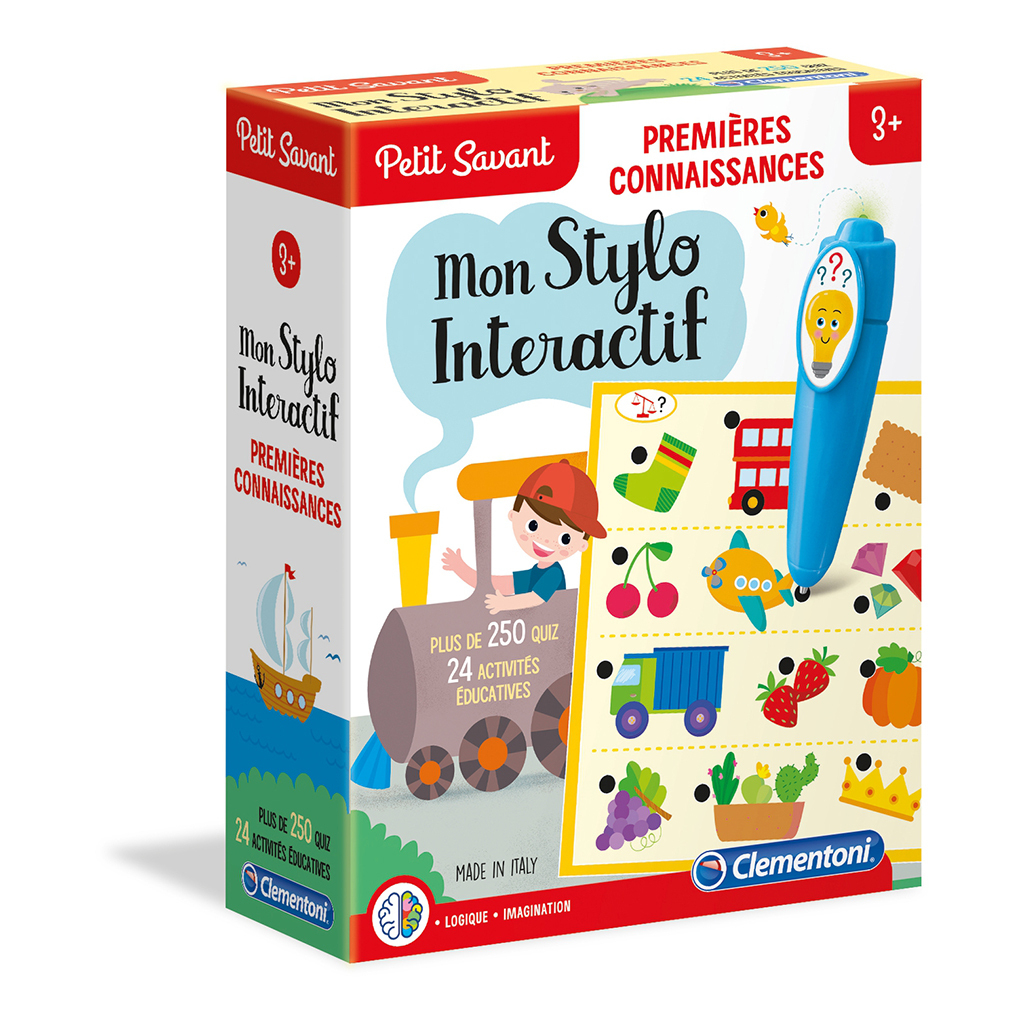 Clementoni - Petit Savant - Mon Stylo Interactif destiné Jeu Interactif 3 Ans