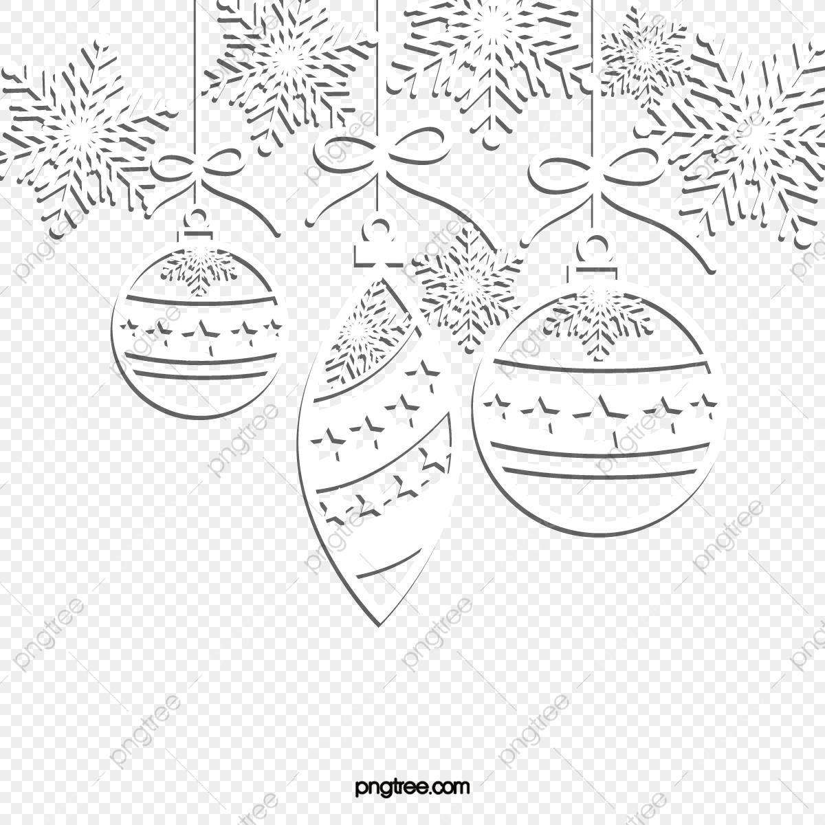 Cloches De Noël Flocons De Neige Papier Découpé En Trois tout Bonhomme De Neige À Découper