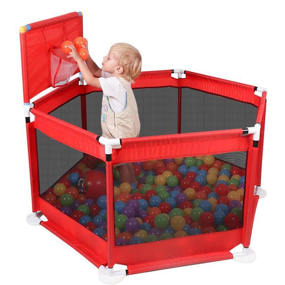 Clôture Pliant Bébé Playpen Barrière Kids Park Children Play Pen Tissu  Oxford Nourrissons Jeu Tente Balle Pit Piscine Aire De Jeux Pour Bébé intérieur Jeux Pour Bébé En Ligne
