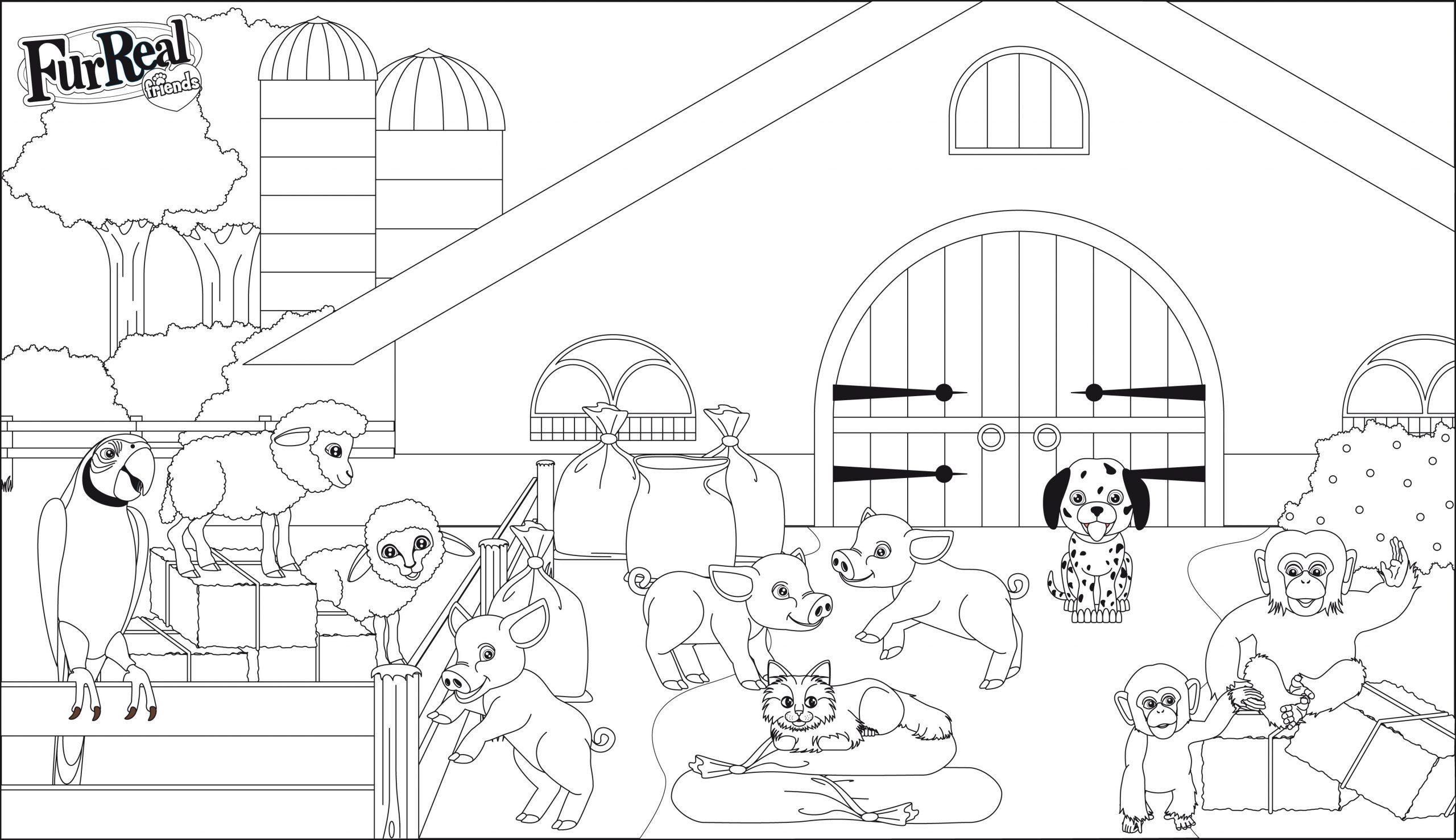 Clubdemax, Coloriage Animaux   La Ferme - Coloriage Et avec Dessin Animaux De La Ferme À Imprimer
