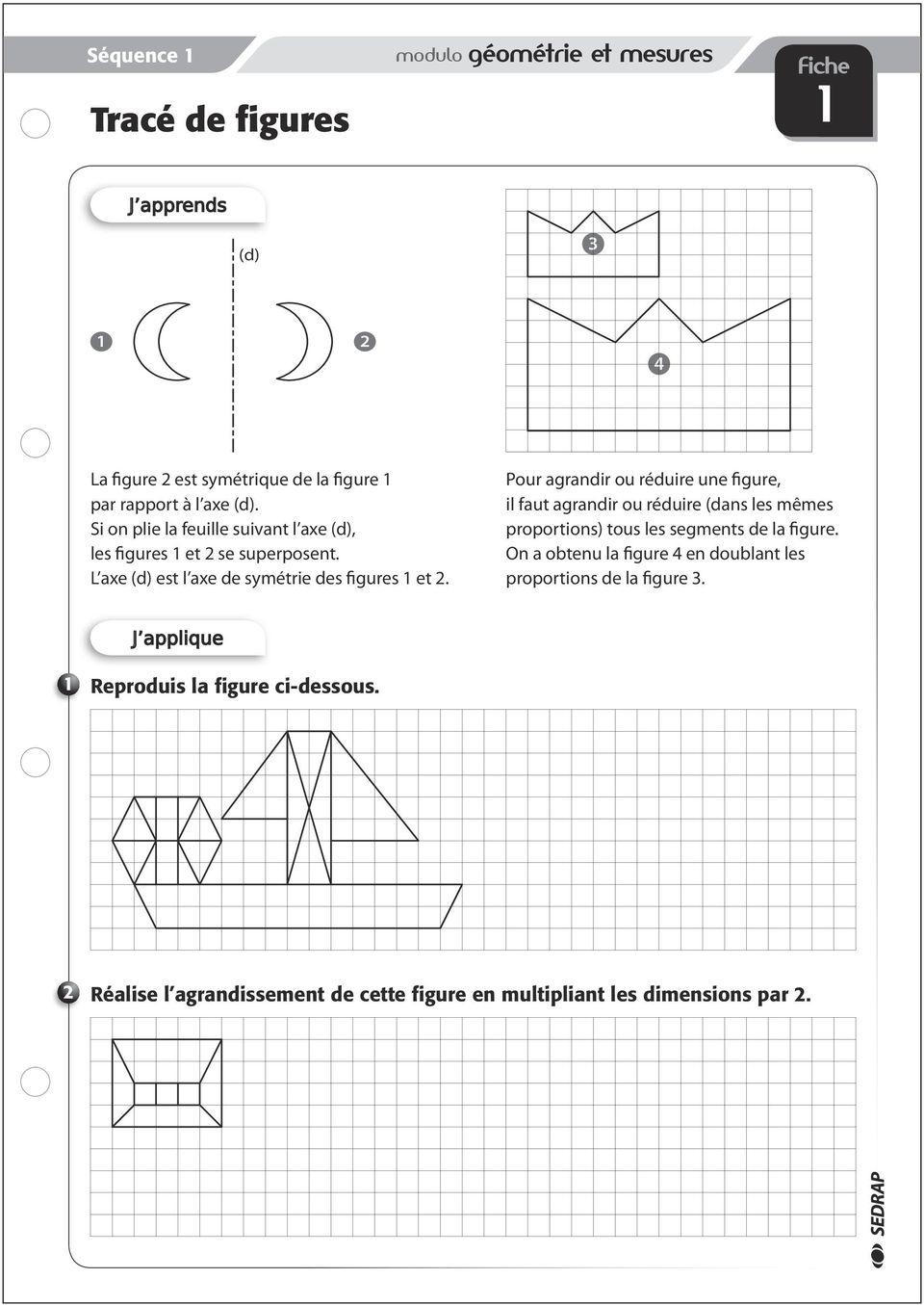 Cm 2. Les F Iches D Exercices - Pdf Free Download intérieur Symétrie Cm1 Exercices