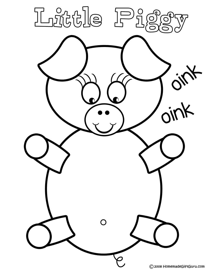 Cochon #42 (Animaux) – Coloriages À Imprimer à Dessin A Colorier Cochon