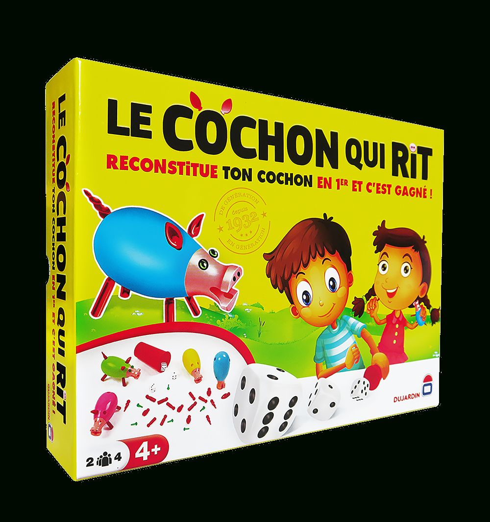 Cochon Qui Rit (Par 4) destiné Jeux Pour Les Garcons De 4 Ans