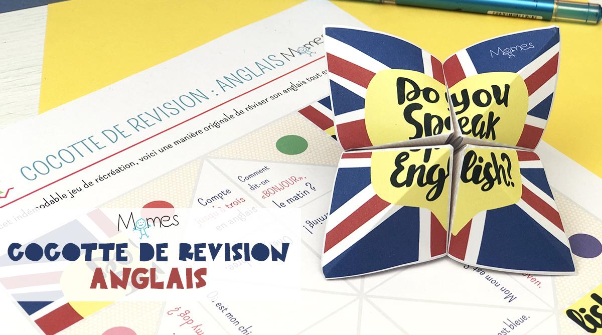Cocotte De Révision : Anglais - Momes encequiconcerne Jeux En Anglais A Imprimer