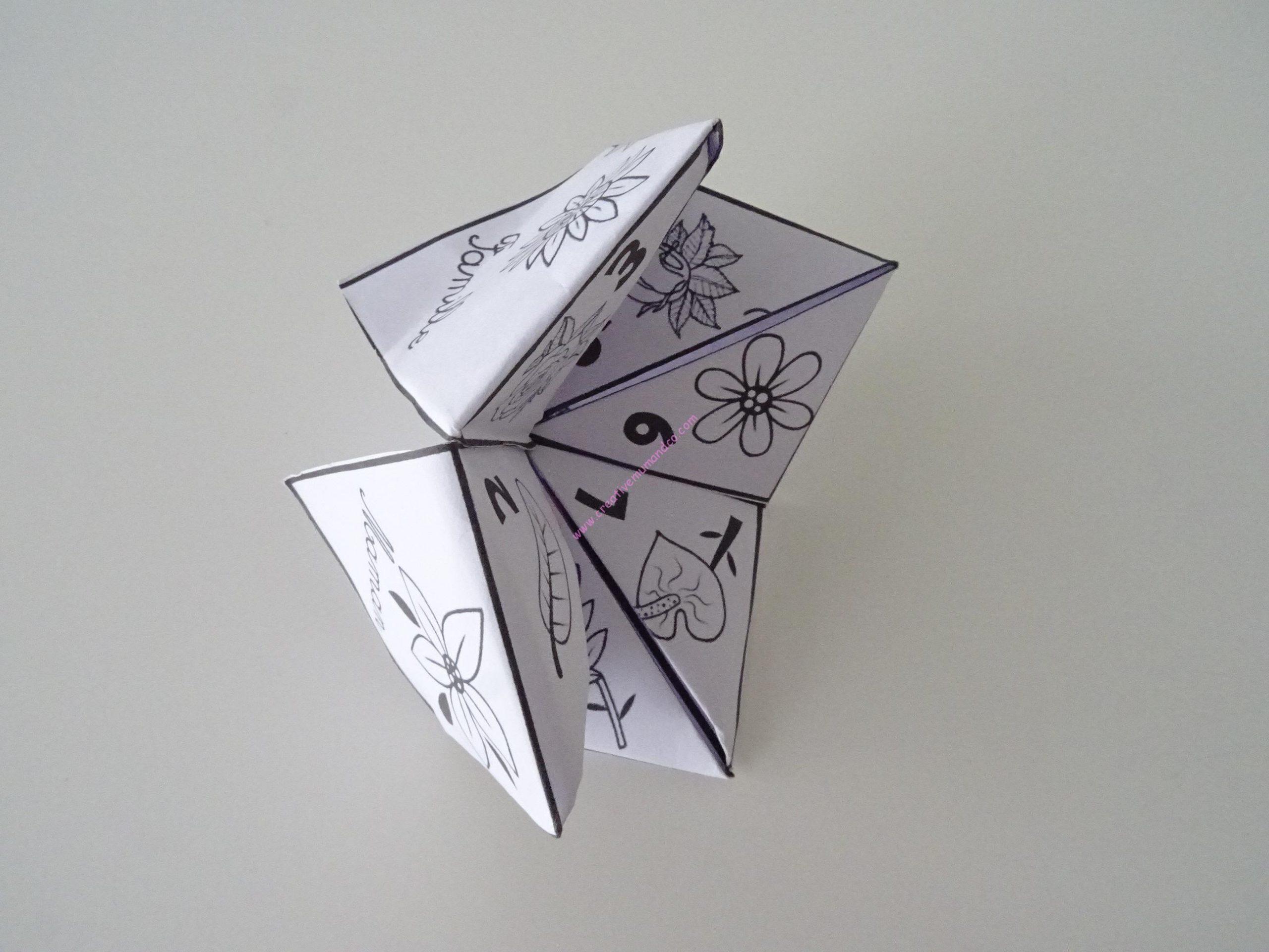 Cocotte En Papier Activité Manuelle Fête Des Meres - concernant Activité Manuelle En Papier