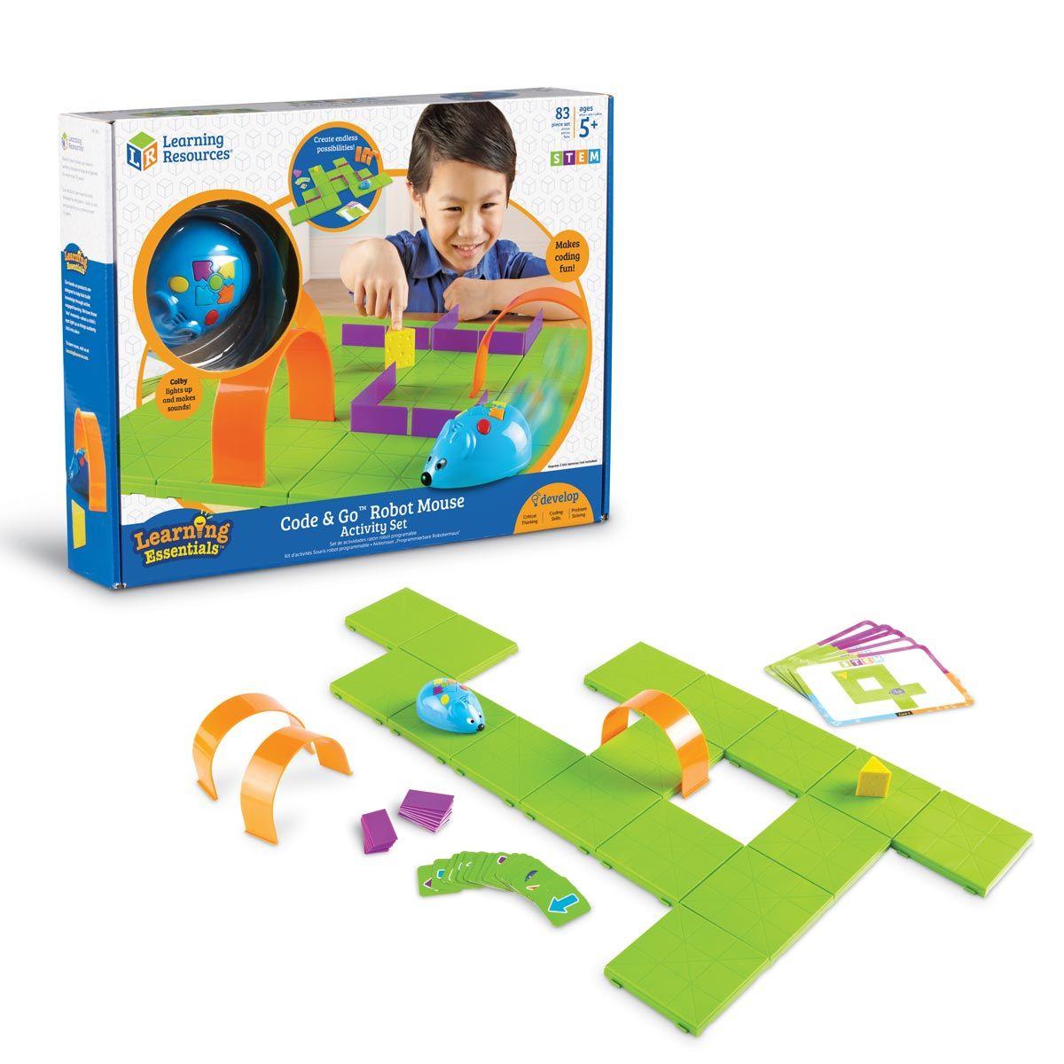 Codage Ludique Pour Les Petits Code & Go Mouse Learning dedans Jeux Garcon 5 Ans
