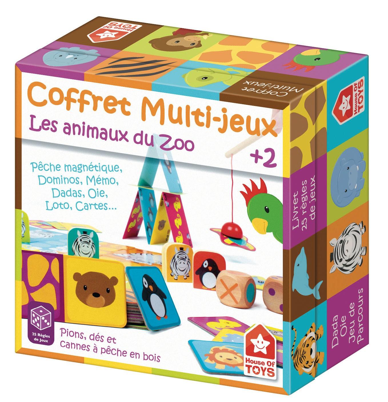 Coffret 25 Jeux Du Zoo - House Of Toys serapportantà Jeux 2 Ans En Ligne Gratuit